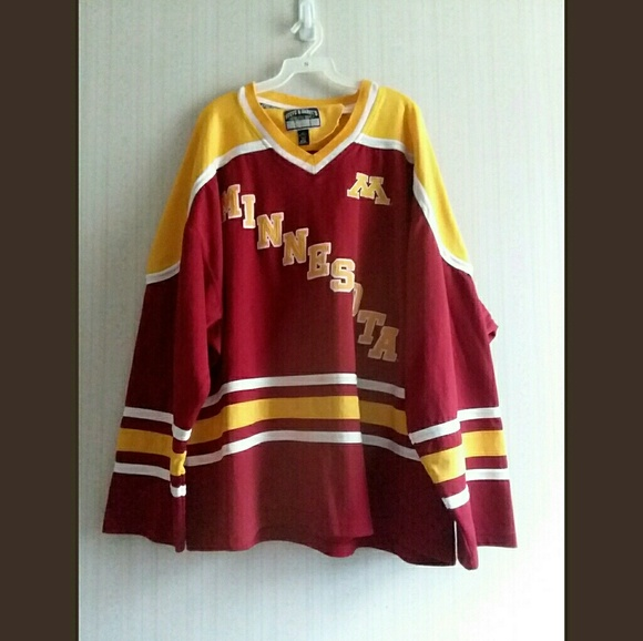 buy popular 81a5a 17c08 Vintage Authentic Minnesota Gophers Hockey Jersey